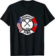Nashville Tennessee Fire Rescue Department Firefighters Duty T-Shirt