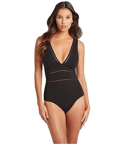 SEA LEVEL SWIM Spliced Multifit One-Piece Swimsuit