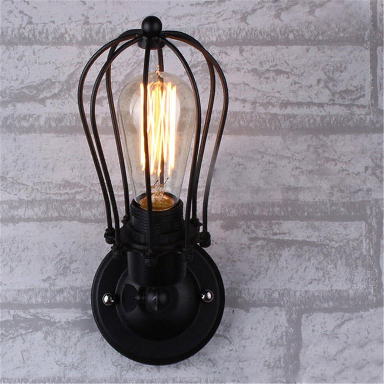 StiefelU LED Wandleuchte nach oben und unten Wandleuchten Rustikale loft retro Grapefruit Wandleuchten billig Bügeleisen antik Restaurant Korridor gang Wandleuchten, einem Kopf 12  25 cm