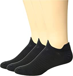 Flat Knit Double Tab 3-Pair