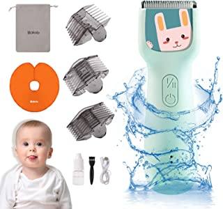 Bololo baby hair clippers - silent hair clippers for kids Quiet Children Hair Trimmer with Autism, Hair Cutting Kits|IPX7 ...