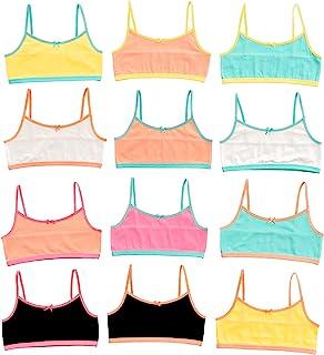 Alyce Intimates Girls Cotton Cropped Cami Training Bra,...