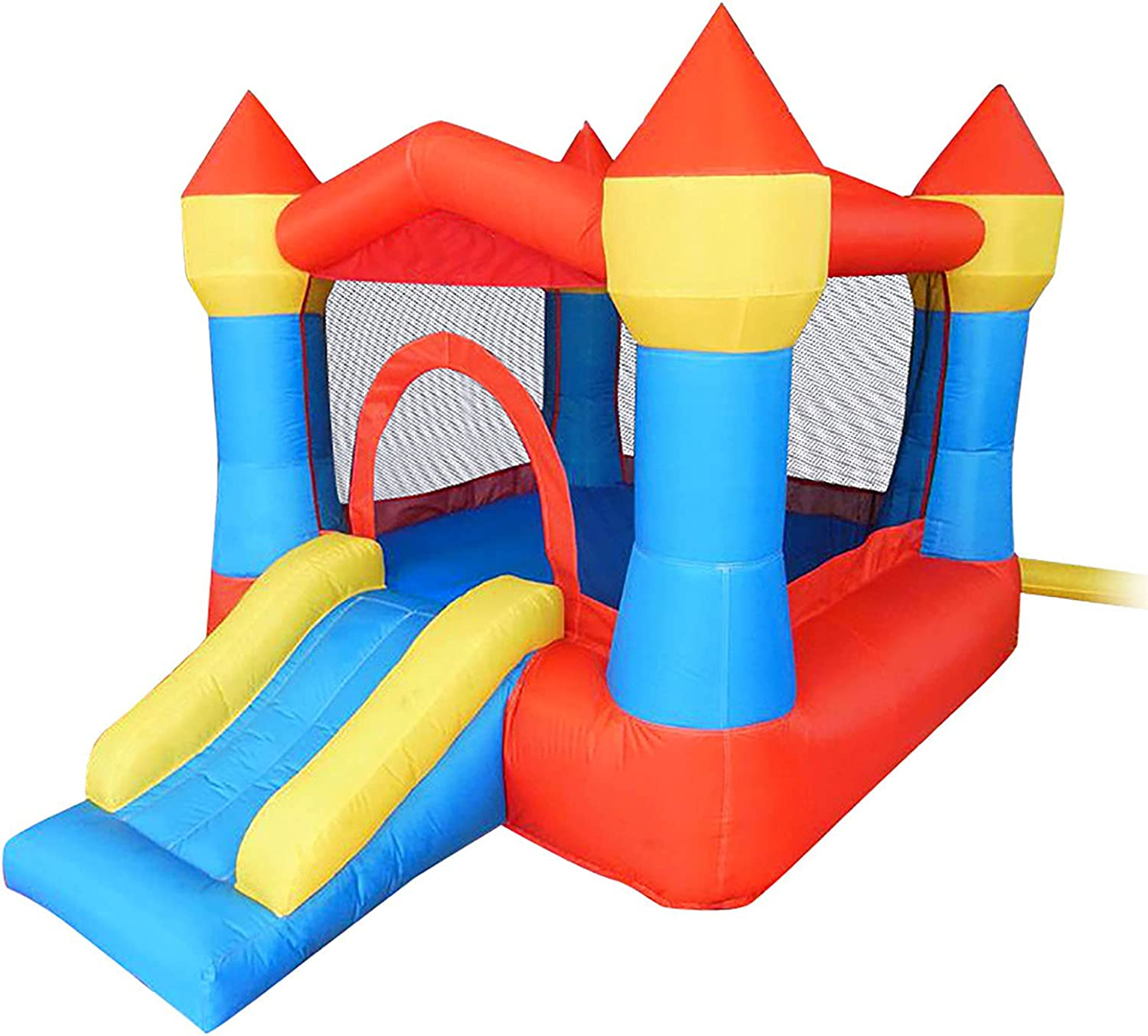 LGLE Cheap mail order specialty store Kids Bouncy OFFicial shop Castle Small Trampoline Children's Trampol Home