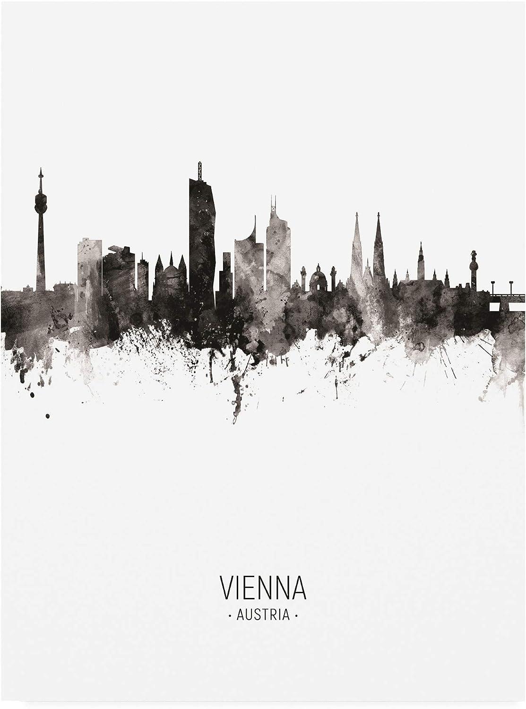Trademark Fine Art Vienna Austria Skyline Portrait II