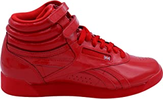 Women's Freestyle Hi Patent Sneakers,Red,6.5