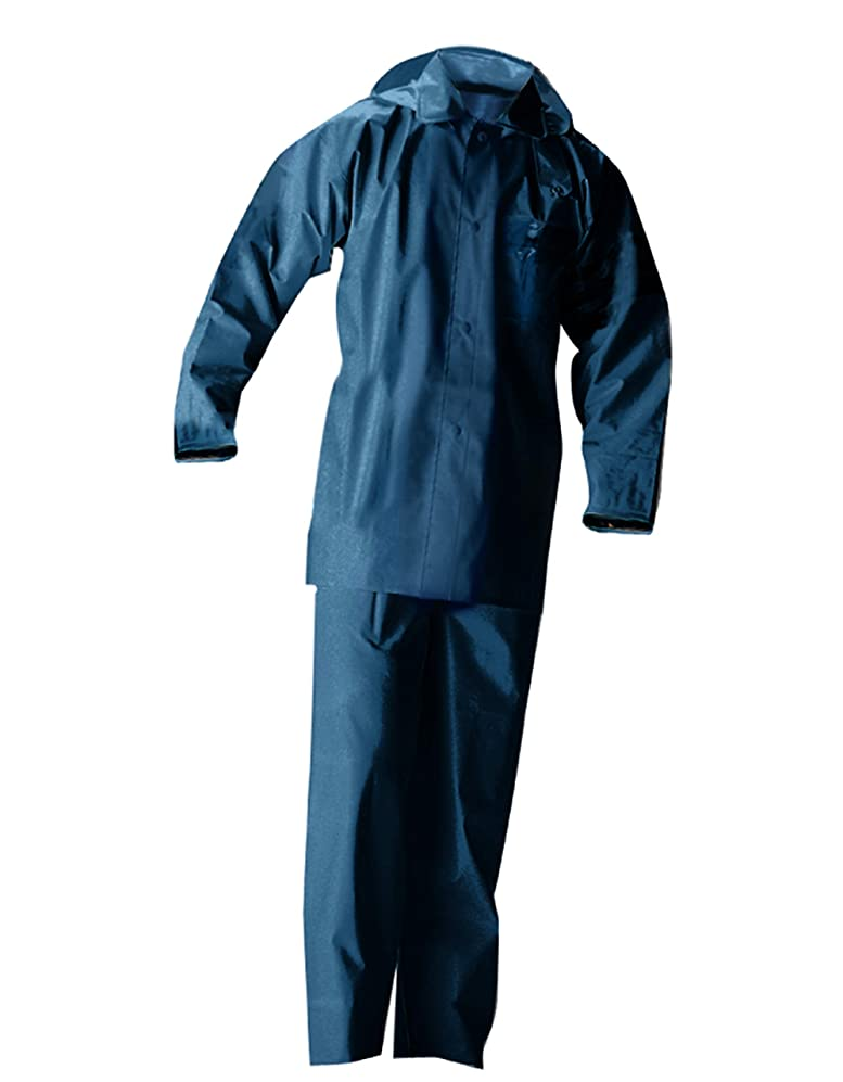 乱雑な軽食刺激するトオケミ(TOHKEMI) 作業用 PVCスーツ(#160 ネイビー) 30着セット (いずれも同じサイズ) (M)