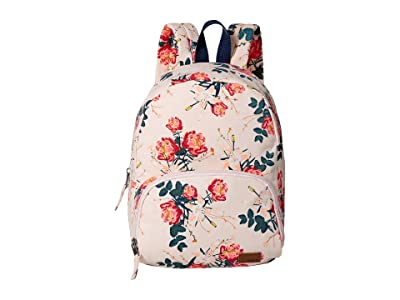 Roxy Always Core Canvas Backpack (Cloud Pink/Garden Liliy) Backpack Bags