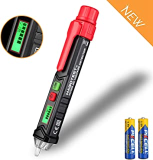 DOTSOG Non-Contact Voltage Tester,Voltage Detector Pen with LED Flashlight and Warning Beeper,LCD Display, ,Dual Range 12V-1000V/48V-1000V & Live/Null Wire Judgment(including Batteries)