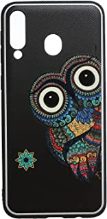 Boter 3D Hard Back Cover With Silicon Edges For Samsung Galaxy M30 - Multi Color