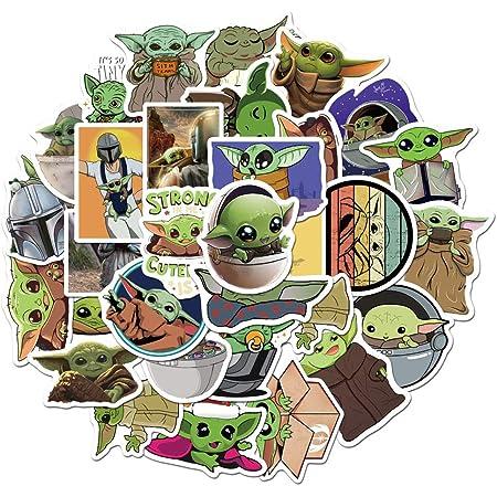 Star Wars Baby Yoda Decal The Mandalorian Car Vinyl Baby Yoda Sticker