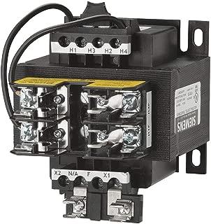 Siemens MT0150A Industrial Power Transformer, Domestic, 240 X 480, 230 X 460, 220 X 440 Primary Volts 50/60Hz, 120/115/110 Secondary Volts, 150VA Rating