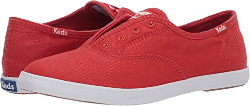 Red Washed Twill