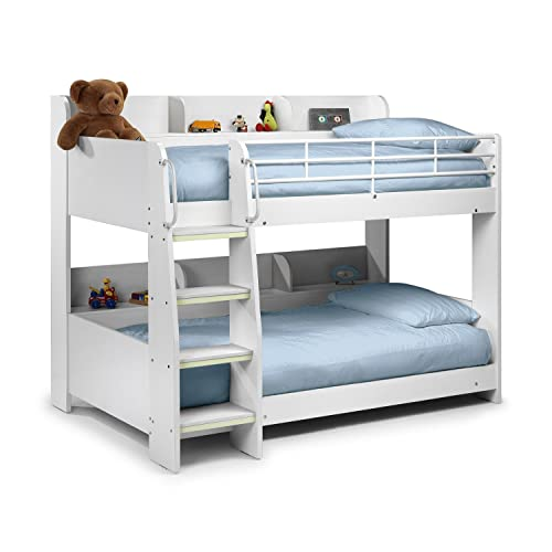 White Bunk Beds With Mattresses Amazoncouk
