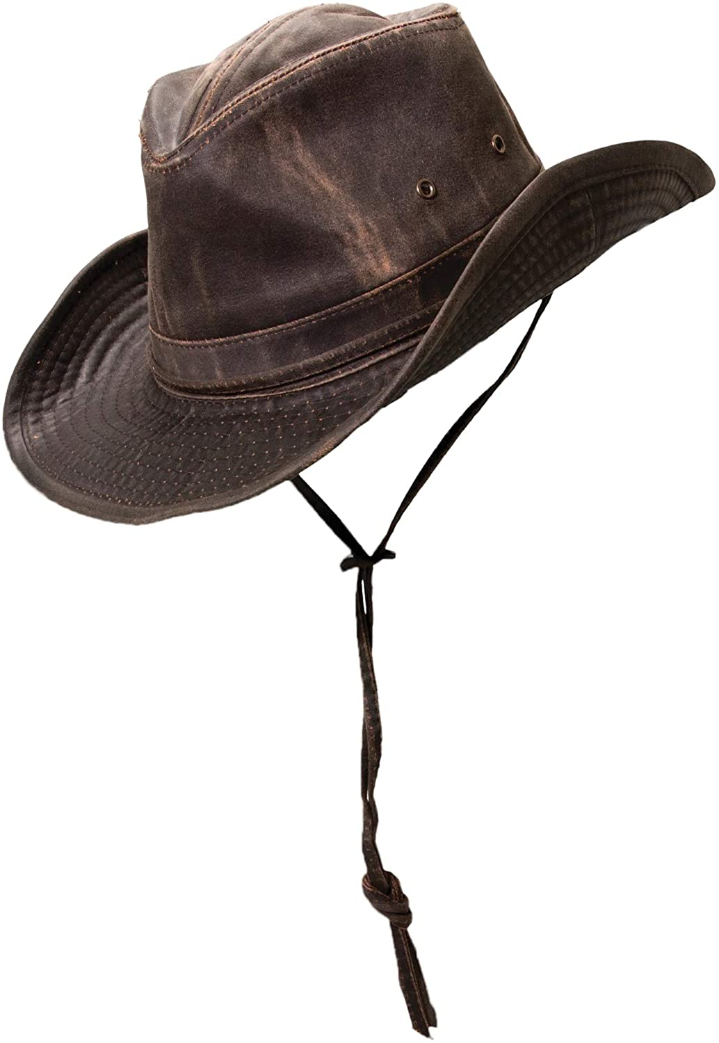 Dorfman Pacific Men's Outback Chin with Hat 2021 model low-pricing Cord
