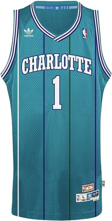 Muggsy Bogues Charlotte Hornets Adidas NBA Throwback Swingman ...