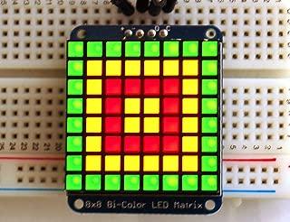 Adafruit Bicolor LED Square Pixel Matrix with I2C Backpack [ADA902]
