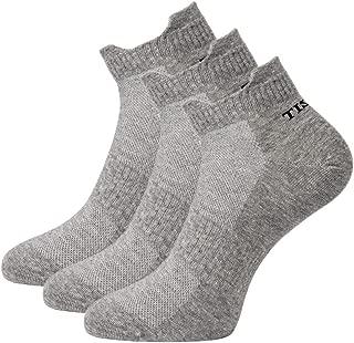 TISOKS Mens and Womens Quick-Dry Low-Cut Quarter Crew Sports Socks
