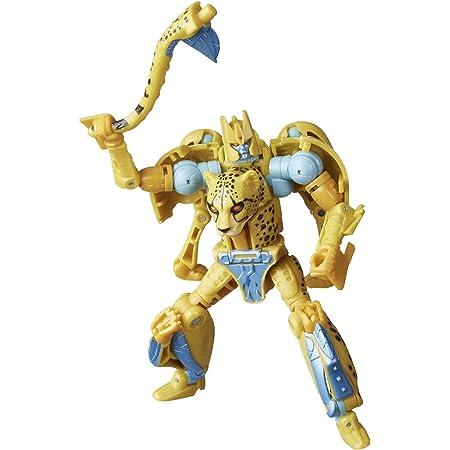 Transformers Juguetes Generations War for Cybertron: Kingdom - Figura WFC-K4 Cheetor Clase de Lujo - 14 cm - Edad: 8+