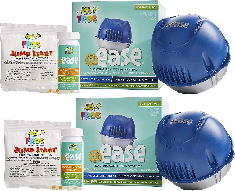 Frog @Ease SmartChlor Floating OFFicial mail order Chlorine and S Mineral New sales Sanitizing