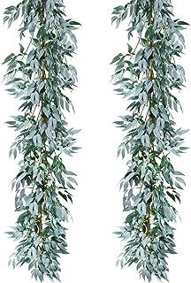 Best artificial fern garland Reviews