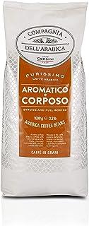 Caffè Corsini Compagnia Dell'arabica Purissimi Coffee Beans G, Aromatico E Corposo, 1000 Gramo