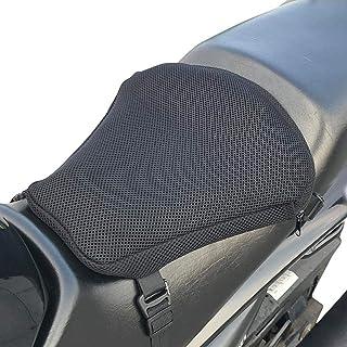 Cojín de Asiento Transpirable para Moto, Cojín De Asiento De Motocicleta, Cojin Asiento Gel Moto, Funda De Cojín De Motocicleta 3D Cojín De TPU Cojín Inflable Absorbente Transpirable Universal Antides