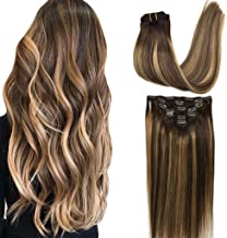 real human hair clip in extensions cheap
