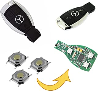 myshopx Taster Micro Microtaster Taster Fernbedienung Schlüssel Fernbedienung SMD Taster Autoschlüssel MP01