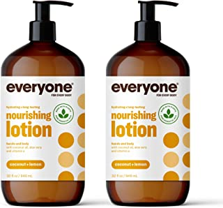 Everyone Lotion: Coconut and Lemon, 32 Ounce, 2 Count- Packaging May Vary