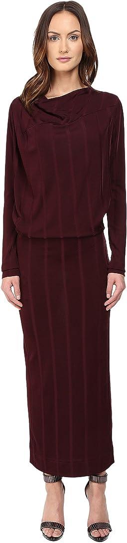 Midi Long Sleeve Boudicca Dress