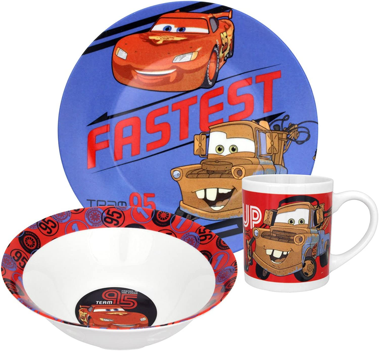 Disney Pixar Cars 3Piece Dinnerware Set
