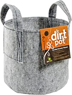 Hydrofarm HGDB30 Bag Reusable Planting, 30-Gallon Dirt Pot, 30 gal