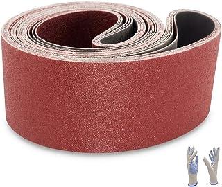 Sanding Belts 4×36, Aluminum Oxide Sanding Belt Sandpaper for Belt Sander Belts, 2..