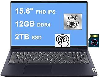 Lenovo IdeaPad 5 15 2020 プレミアム ラップトップ コンピューター I 15.6インチ FHD IPS タッチスクリーン I Intel Quad-Core i7-1065G7 I 12GB DDR4 2TB PCIe ...