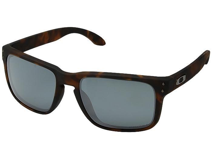 Oakley Holbrook (Matte Brown Tortoise w/ Prizm Black) Sport Sunglasses