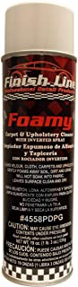 Finish Line Foamy - Carpet and Upholstery Cleaner with Inverted Spray - For Cars or Home