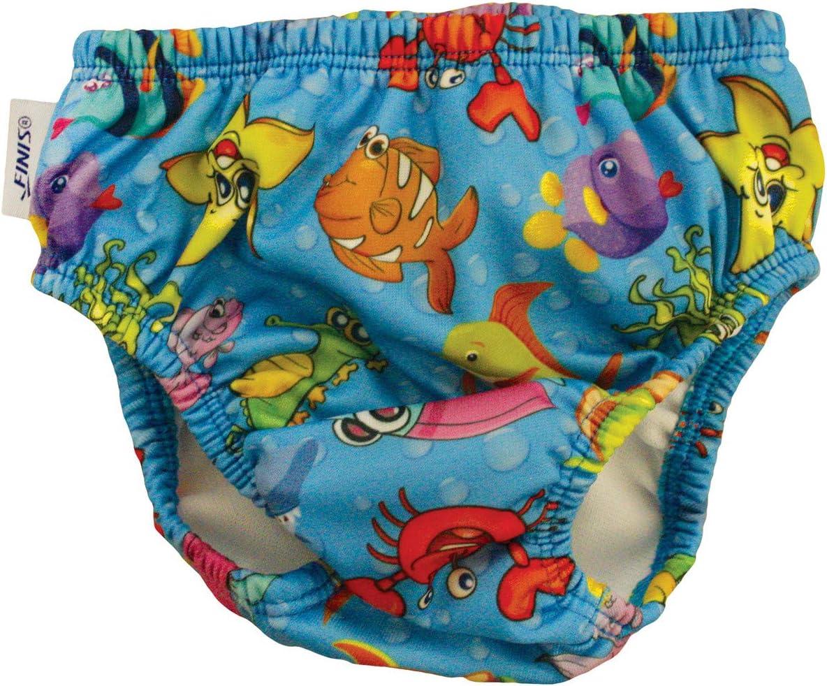 FINIS Girls Swim Diaper Fishbowl Blue