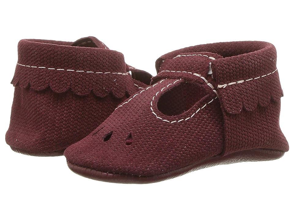 Freshly Picked Soft Sole Mary Jane (Infant/Toddler) (Merlot) Kids Shoes