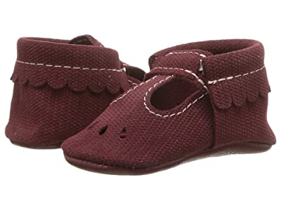 Freshly Picked Soft Sole Mary Jane (Infant/Toddler) (Merlot) Kids Shoes