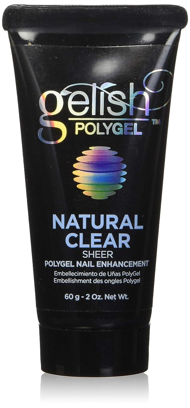 ゲインセイトライアスロンハグHarmony Gelish Gel Polish - PolyGel - Natural Clear - 60g/2oz