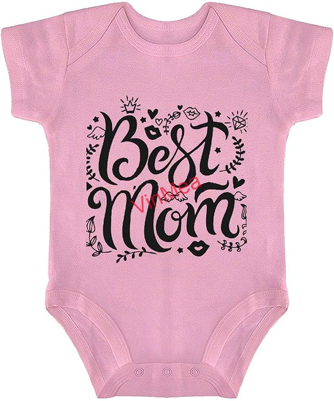 Cute Ranking TOP1 Bodysuit For Las Vegas Mall Baby Mom Onesie Boy Girl Infant