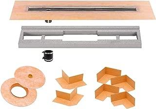 Schluter Systems Kerdi-Line Off-Set Channel Body Shower Drain 36' (KL1VO60E90)