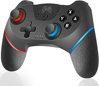 Xingmeng Nintendo Switch コントローラー 無線 Bluetooth 接続 ワイヤレス HD振動機能搭載 連射 任天堂スイッチ対応