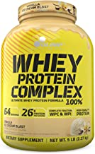 Olimp Whey Protein Isolate - Whey Protein Concentrate - Vanilla Ice Cream Protein Powder- Amino Acid Complex - Whey Protei...