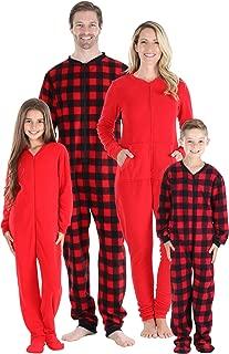 girls buffalo plaid pajamas