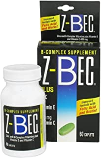 31068962 Vitamin B/C/E/Zinc Z-Bec Tablets 60 Per Bottle by Inverness Medical -Part no. 31068962 by Z-Bec