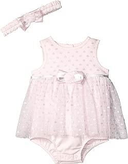 Baby Girl's Mesh Popover Dress