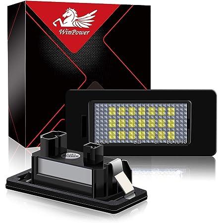 Win Power Fehlerfrei Led Lizenz Kennzeichenbeleuchtung Montage Bright Weiß Lampen Leuchtmittel 2 Stücke Auto
