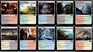 Magic: the Gathering Core 2020 Common Dual Land Set (1 Each of 10)
