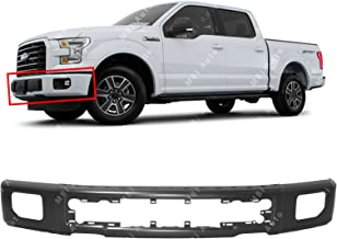MBI AUTO - Primered, Steel Bumper Face Bar Shell for 2015 2016 2017 Ford F150 Pickup W/Fog 15 16 17, FO1002424